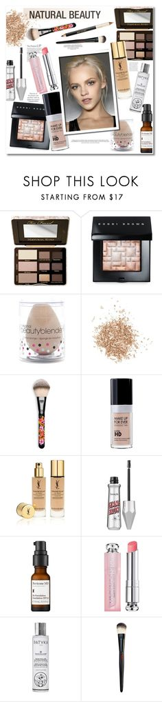 """""""Natural Beauty"""" by vkmd ❤ liked on Polyvore featuring beauty, Too Faced Cosmetics, Bobbi Brown Cosmetics, beautyblender, Topshop, MAC Cosmetics, Yves Saint Laurent, Benefit, Perricone MD and Christian Dior"""