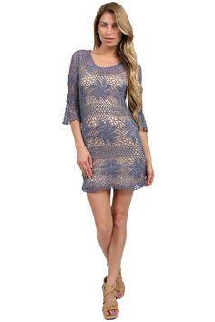 Crochet Sobresaliente: vestido de ganchillo de Eternal Sunshine Creations.