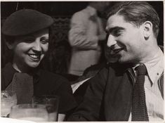 Robert Capa y Gerda Taro en París, otoño de 1935