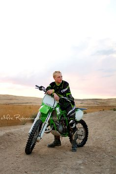 Guy Senior Photo | Motorcycle | Mrs. Robinson Photography