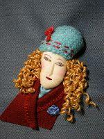Queenie's Needlework: Stumpwork Portraits