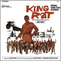 """""""King Rat"""" (1965, Mainstream).  Music from the movie soundtrack."""