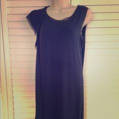 Dress Sleeveless dress shiffon finishing Vera Wang Dresses