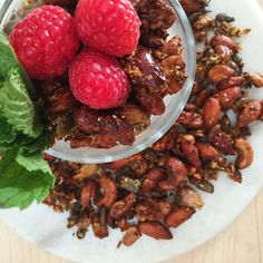 never pay big bucks for store-bought granola again. this recipe is simple, low-sugar,and contains ...