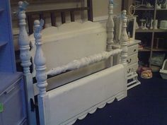 Painted Cinderella Bed