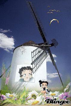 Betty Boop en Hollande de Mamyesoleil