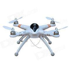 Walkera QR X350 6-CH R/C Quadcopter w/ GPS / DEVO F7 5.8G FPV Transmitter RTF - White Price:US$ 559.99 10% OFF List Price: US$623.98