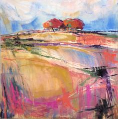 Browse the Cricket Fine Art collection of abstract and still life paintings by Emma Haggas. Oil Pastel Paintings, Oil Pastel Art, Landscape Artwork, Abstract Landscape Painting, Oil Pastel Landscape, Papaver Orientale, Fine Art, Edouard Vuillard, Malcolm Liepke