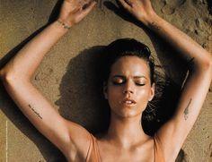 Freja Beha Erichsen tattoos #mathilde2CParis #mathilde2C #tattoosattitude