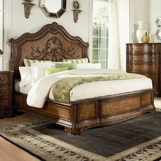 Legacy Classic Pemberleigh Arched Mansion Panel Bed - 3100-4105K