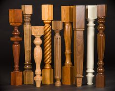 Spindle turning or turning between centers, is a woodturning method referring to a piece of wood on a wood lathe that is being turned on its center axis. Examples: pens, furniture legs, spindles, and some vessels.