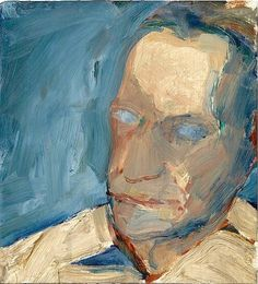 diebenkorn, portrait of david parks, 1959