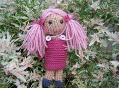 Crochet Fairy Doll by bekaboodesigns on Etsy, £15.00