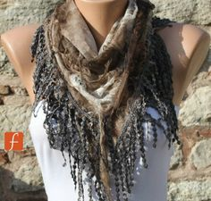 Hey, I found this really awesome Etsy listing at https://www.etsy.com/listing/97698546/on-sale-earth-tones-brown-scarf-cowl
