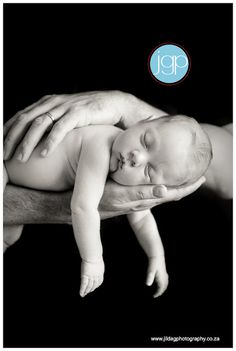 newborn & dad