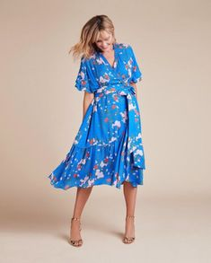 13ddc6ed6d3 Falling Floral Blaire Dress. 11 Honoré