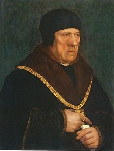 Sir Henry Wyatt, father of Thomas Wyatt, by Hans Holbein the Younger