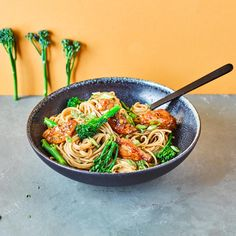 Super Chicken Noodles With Tenderstem