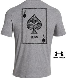 Under Armour Tactical Lady Ace T-Shirt - UA Military Graphic Performance T Shirt