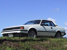 Celica. This was my first car only I had it in red.  I thought I was so cool hehe.