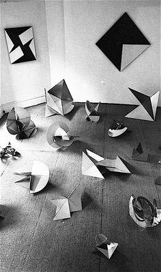 abridurif:  Lygia Clark, Bichos, Signals Gallery, Londres, 1965
