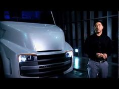 The Building of the Freightliner Revolution Innovation Concept Truck Cool Trucks, Big Trucks, Colani Truck, Reefer Container, Freightliner Trucks, Future Transportation, Flatbed Trailer, Air Ride, Moving Pictures
