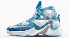 0d7619724ad Cavs Kicks  Nike iD LeBron 13  Lake Erie  - Fear The Sword Nike