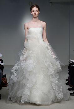 Brides: Vera Wang - Spring 2012 ~ SO GORGEOUS!