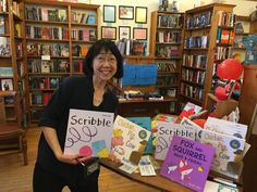 Authors for Indies Day at Blue Heron Books in Uxbridge.