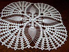 squared crochet doilies