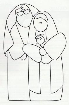Risultati immagini per moldes patchwork navidad Diy Nativity, Christmas Nativity, Christmas Wood, Christmas Time, Christmas Ornaments, Christmas Stockings, Christmas Embroidery Patterns, Christmas Drawing, Craft Patterns