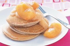 Indulge in something delicious and healthy with these gorgeous gluten-free buckwheat pancakes.