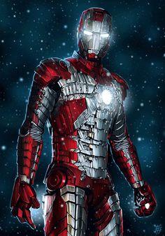 Iron Man by Danel Yessaliyeva
