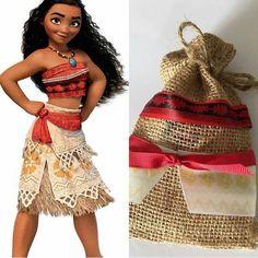 Fiesta infantil tematica de moana hawaiana (13) - Tutus para Fiestas Mexico - Disfrases personalizados y moños