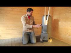 Rocket stove heater for a workshop or a room - YouTube (or my boat?) :)