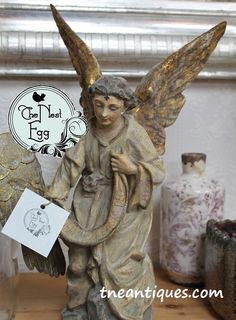 Hand-painted angel a
