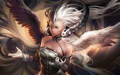 Yin Yang Goddess by *sakimichan on deviantART