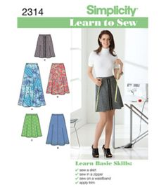Simplicity Pattern 2314A 6-8-10-12--Simplicity Misses
