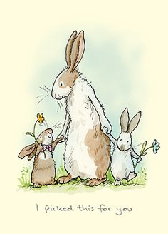 A Two Bad Mice Rabbit card by Anita Jeram who illustrated the book Guess How Much I Love You. There is a bone China Mug Too