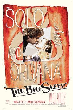 Fett Noir Series 1: The Big Sleep.  via Etsy.