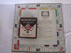 Monopoly Game: ca 1930s