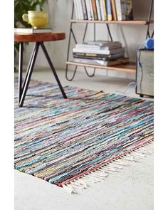 Any rugs from Urban Outfitters are cool (like beans). (this is the Magical Thinking Lalam Chindi Rag Rug) Futuristic Interior, Decor, Home Decor Styles, Home Decor Trends, Rag Rug, Rugs, Rug Decor, Trending Decor, Home Interior Design