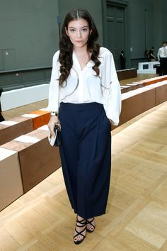 Celebrating Lorde's Best Style Moments, Which Can Best Be Described as Glam Teen Witch Photos   W Magazine