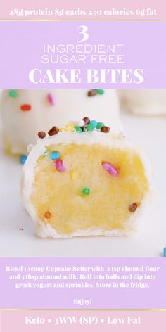 Amazing and easy recipe can be enjoyed as a healthy treat, meal replacement, breakfast on the go or a kid friendly snack. Try simple & quick cake pop bites. Stay on track with your weight loss with this sugar free recipe - super tasty. Milkshake Cupcakes, Protein Milkshake, Popular Food, Popular Recipes, Organic Protein Powder, Quick Cake, Cake Bites, Keto Cake, Kid Snacks