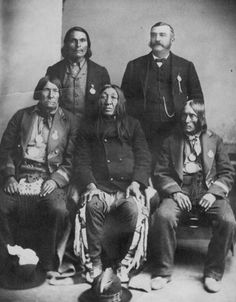 Cree chiefs and an interpreter in with Mistawasis seated at the bottom right. Six Nations, First Nations, Joseph Brant, Residential Schools, Star Blanket, Hudson Bay, University Of Toronto, African Men, White Man