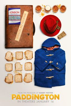 Grab your coats, red hats, and a few marmalade sandwiches! Paddington's ready and excited to greet all of you in theaters. Don't miss Paddington, based on the classic children's book, in theaters on January 16, 2015. It's the perfect movie for the whole family. Click to see the trailer.