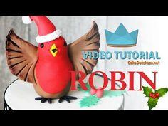 Tutorial – Christmas Robin | Cake Dutchess