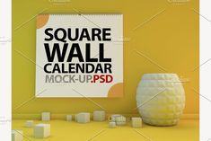 Calendar mockup by 3D Graphics Shop on @creativemarket