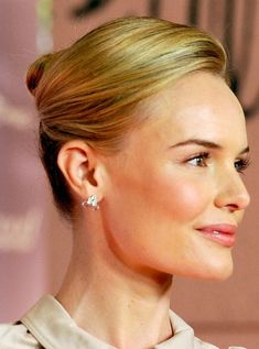 Kate Bosworth Updo Hairstyle: French Twist