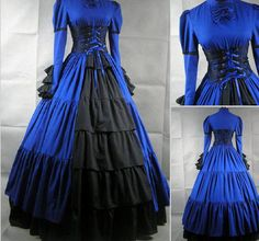 Awesome dress that with some work would rock the Steampunk World and a Doctor Who convention.
